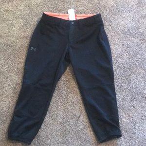 Under Armour Softball pants black